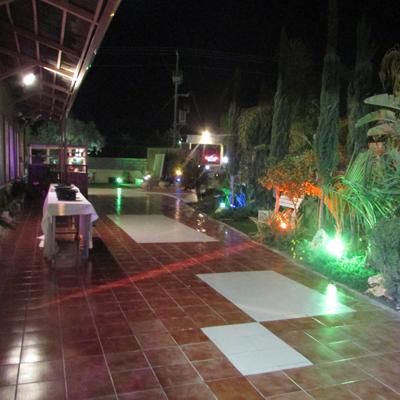 כניסה לאולם - גן הדסים במודיעין עילית